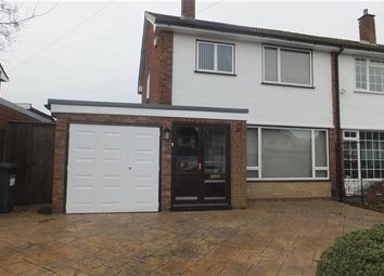 Thumbnail 3 bed semi-detached house to rent in Kingfield Road, Shirley, Solihull