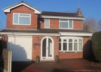 Thumbnail 4 bed detached house for sale in Hickory Close, Woolston, Warrington