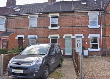 Thumbnail 2 bed terraced house to rent in Southend Road, Basingstoke