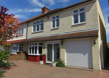 Thumbnail 4 bed semi-detached house for sale in Danson Crescent, Welling, Kent