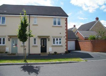 Thumbnail 3 bed semi-detached house for sale in Skylark Road, Melksham