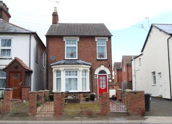 Thumbnail 3 bedroom detached house for sale in Felixstowe Road, Ipswich, Suffolk