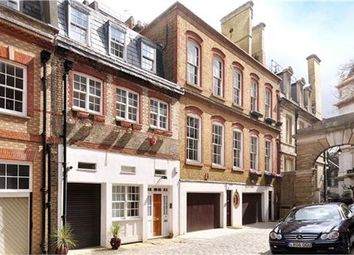 Thumbnail 2 bedroom town house to rent in Grosvenor Gardens Mews North, Belgravia, London