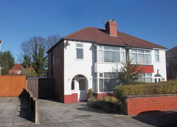 Thumbnail 3 bed semi-detached house for sale in Shaws Avenue, Southport