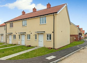 Thumbnail 2 bedroom end terrace house for sale in Wellington Close, Chedburgh, Bury St. Edmunds