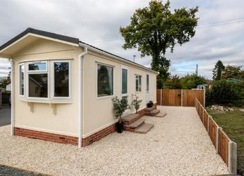 Thumbnail 1 bed mobile/park home for sale in 12 Crossways Park, Howey, Llandrindod Wells