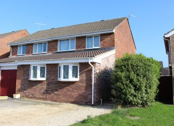 Thumbnail 3 bedroom semi-detached house for sale in Porlock Gardens, Nailsea, 2Qz.