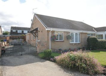 Thumbnail 3 bed semi-detached bungalow for sale in Dunkeld Close, Blyth