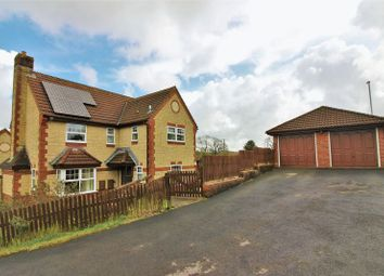 Thumbnail 5 bed detached house for sale in Caraway Close, Chard