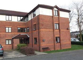 Thumbnail 2 bed flat for sale in Orchard House, Drummond Way, Macclesfield
