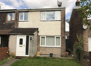 Thumbnail 3 bed semi-detached house to rent in Larch Grove, Caerphilly