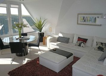 Thumbnail 2 bed flat to rent in Pentire Crescent, Newquay