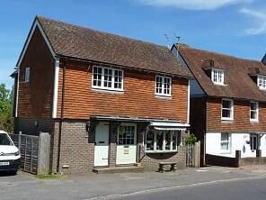 Thumbnail 1 bed flat to rent in High Street, Burwash, Etchingham, East Sussex