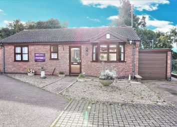 Thumbnail 2 bedroom detached bungalow for sale in Park Road, Leicester