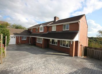 Thumbnail 5 bed detached house for sale in The Heathers, Woolwell, Plymouth