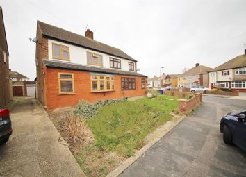 Thumbnail 3 bed semi-detached house for sale in Brockenhurst Drive, Stanford-Le-Hope