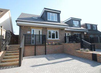 Thumbnail 3 bed semi-detached house for sale in Barnhurst Lane, Hawkinge, Folkestone