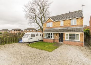 Thumbnail 4 bed detached house for sale in Curbar Close, North Wingfield, Chesterfield