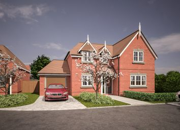 Thumbnail 4 bedroom detached house for sale in Woodlands Park Road, Maidenhead