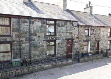 Thumbnail 3 bed terraced house for sale in Tabernacl Street, Deiniolen, Caernarfon