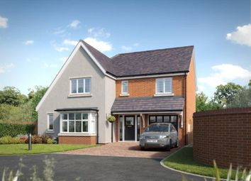 Thumbnail 4 bed detached house for sale in Postern Road, Tatenhill, Burton-On-Trent