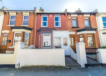 Thumbnail 3 bed terraced house for sale in Byron Road, Gillingham, Kent