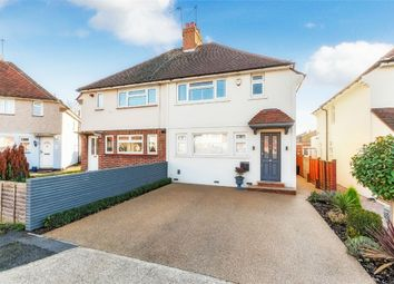 Thumbnail 3 bed semi-detached house for sale in Church Close, Uxbridge, Middlesex