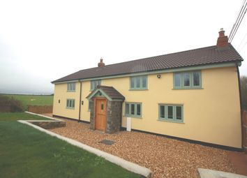 Thumbnail 4 bed detached house for sale in Meare Green, Stoke St. Gregory, Taunton