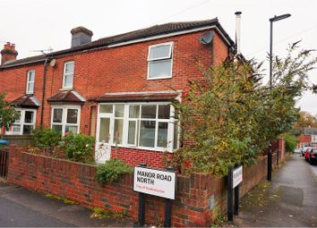 Thumbnail 3 bedroom end terrace house for sale in Manor Road North, Woolston, Southampton