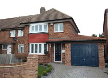 Thumbnail 3 bed semi-detached house for sale in Station Crescent, Ashford