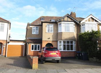 Thumbnail 3 bed semi-detached house for sale in Carnarvon Avenue, Enfield