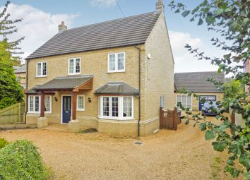 Thumbnail 5 bedroom detached house for sale in Gull Road, Guyhirn, Wisbech