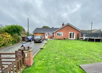 Thumbnail 4 bed detached bungalow for sale in Hollinwood, Whixall, Whitchurch