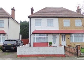Thumbnail 3 bed semi-detached house for sale in Lincoln Way, Enfield