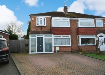 Thumbnail 3 bed semi-detached house for sale in Hilary Avenue, Heald Green, Cheadle