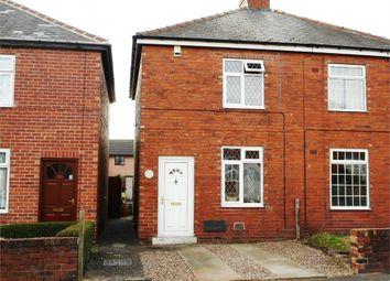 Thumbnail 2 bed semi-detached house for sale in Dawber Street, Worksop, Nottinghamshire