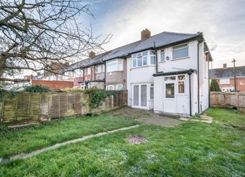 Thumbnail 3 bedroom end terrace house for sale in Tamworth Lane, Mitcham