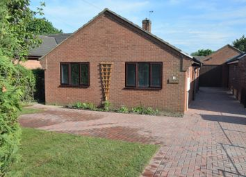 Thumbnail 3 bed bungalow for sale in Woodcote, Ashby De La Zouch
