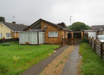 Thumbnail 3 bed detached bungalow for sale in Church Road, Clenchwarton, King's Lynn