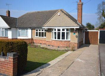 Thumbnail 2 bed bungalow to rent in Dorset Avenue, Wigston