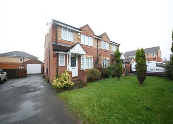 Thumbnail 3 bed semi-detached house to rent in Pipit Meadow, Morley
