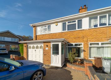 Thumbnail 4 bed semi-detached house for sale in Beechnut Close, Solihull