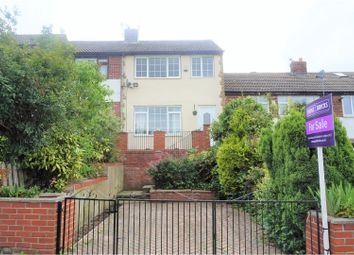 Thumbnail 3 bed terraced house for sale in Calder View, Wakefield