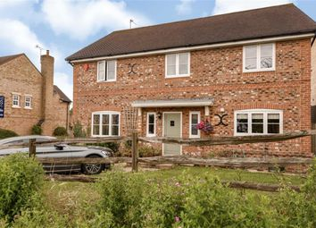 Thumbnail 5 bed detached house for sale in Jenner Close, Wanborough, Swindon