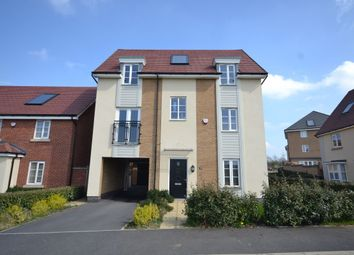 Thumbnail 4 bed detached house for sale in Towpath Avenue, Pineham Lock, Northampton