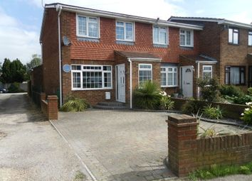 Thumbnail 3 bed end terrace house for sale in White Hart Lane, Portchester