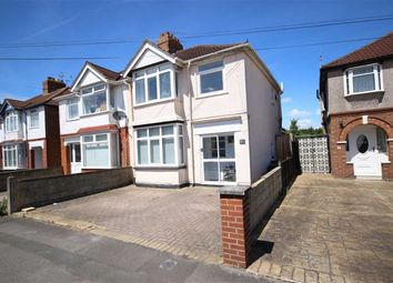 Thumbnail 3 bed semi-detached house for sale in Cumberland Road, Swindon
