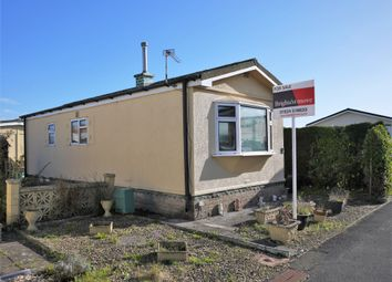 Thumbnail 1 bed mobile/park home for sale in Oaktree Park, Locking, Weston-Super-Mare