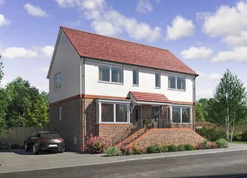 Thumbnail 2 bed semi-detached house for sale in Lucas Close, Queenborough, Sheerness, Kent