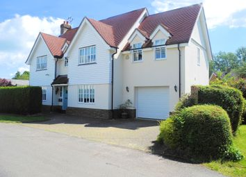 Thumbnail 4 bed detached house to rent in Cock Green, Felsted